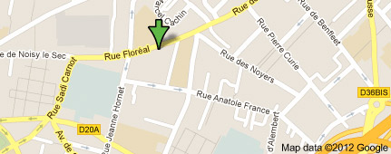 Plan bus metro acces bagnolet romainville les lilas obese - Paris gallieni porte bagnolet google map ...